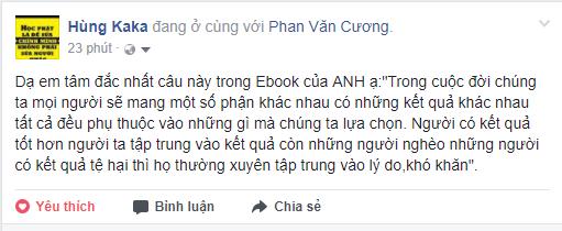 Cảm nhận của bạn Hùng về ebook