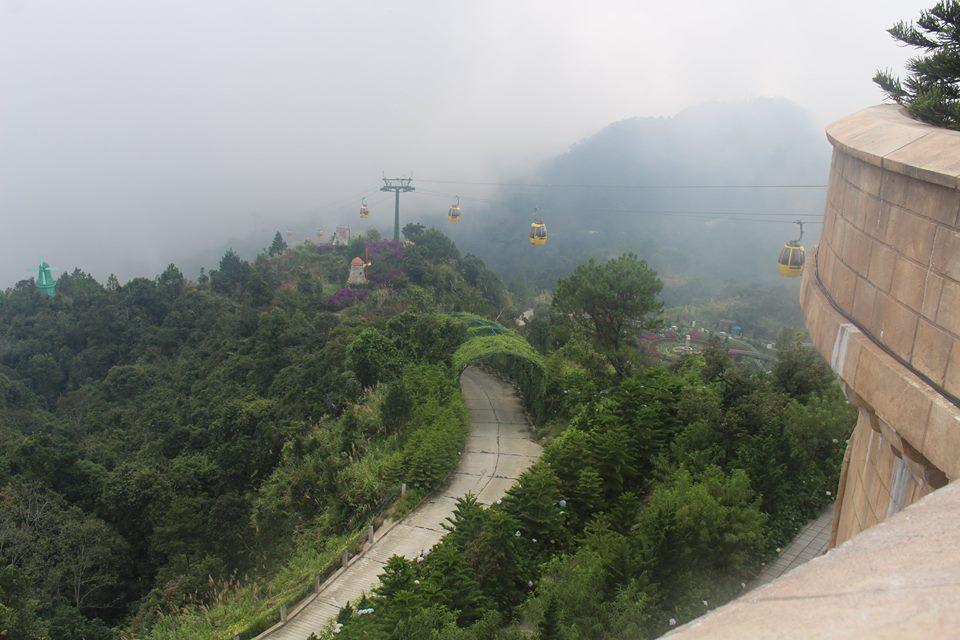 Cáp treo Bà Nà Hill - Phan Văn Cương