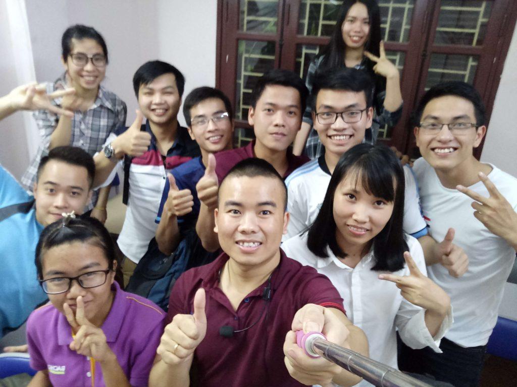 Học viên chương trình đánh thức chiến binh web - Phan Văn Cương