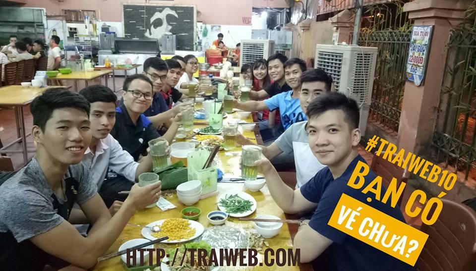 Một bữa ăn nhậu Trại web 8