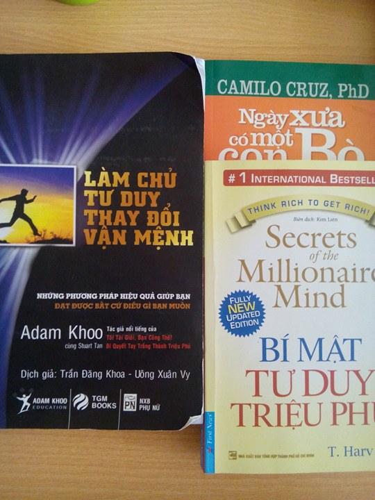 Những cuốn sách tôi đọc sau khi được anh Cương giới thiệu