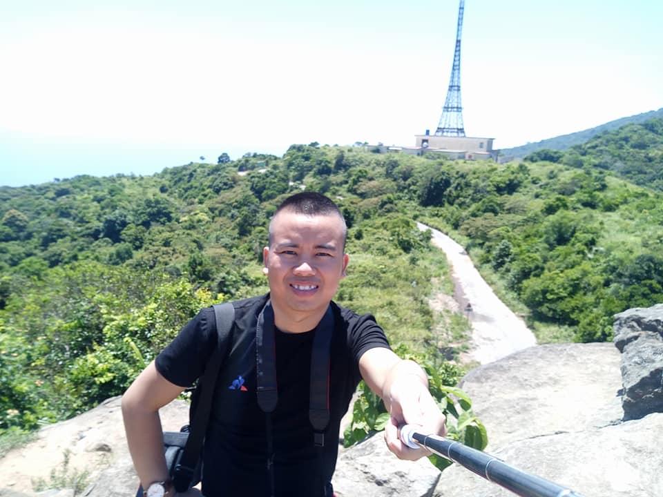Phan Văn Cương trên Đỉnh Bàn Cờ Sơn Trà Đà Nẵng