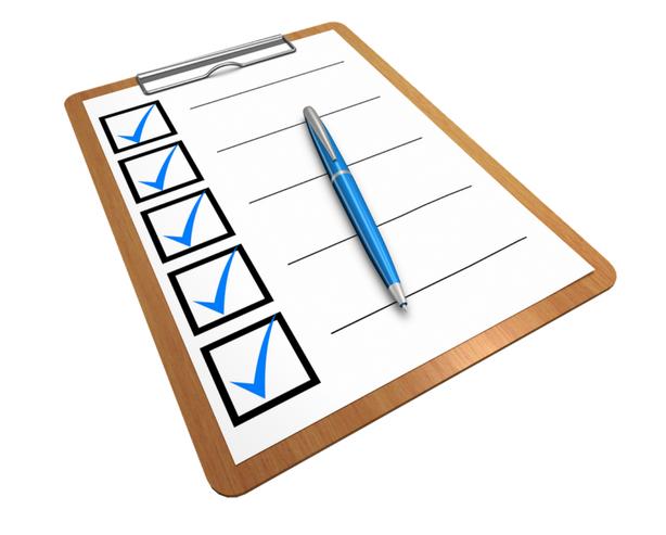 Sử dụng thời gian hiệu quả bằng checklist