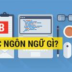 Học lập trình web nên học ngôn ngữ gì - Phan Văn Cương